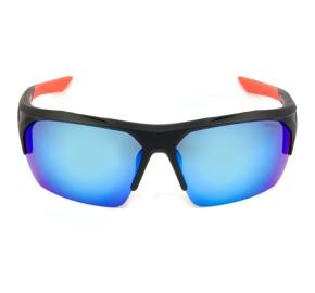 Nike Terminus R EV1031 - Preto Fosco/Azul Espelhado 064 76mm - Óculos de Sol