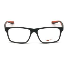 Nike 7101 - Cinza Fosco/Laranja 310 53mm - Óculos de Grau