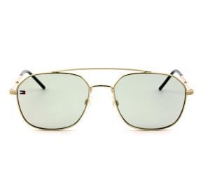 Tommy Hilfiger TH1599/S - Dourado/Verde PEFQT 55mm - Óculos de Sol