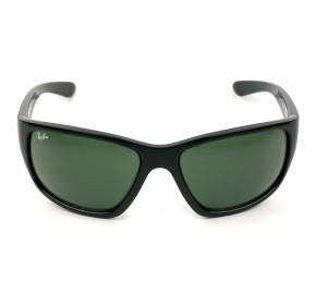 Ray Ban RB4300 Preto Brilho/G15 601/31 63mm - Óculos de Sol