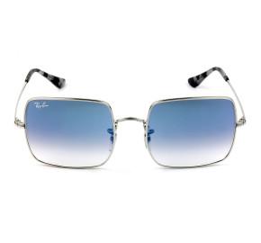 Ray Ban Square RB1971 - Prata/Azul Degradê 91493F 54mm - Óculos de Sol