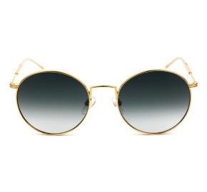 Tommy Hilfiger TH1586/S - Dourado/Cinza Degradê 0009O 52mm - Óculos de Sol