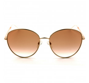 Tommy Hilfiger TH1649/S Dourado/Laranja Degradê OFY17 58mm - Óculos de Sol