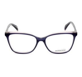 Victor Hugo VH1784 Roxo Translúcido 01HZ 54mm - Óculos de Grau