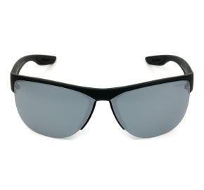Prada Linea Rossa SPS17U - Preto Fosco/Cinza Espelhado DG0-5L0 68mm - Óculos de Sol
