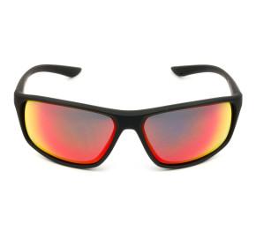 Nike Adrenaline EV1113 - Preto Fosco/Vermelho Espelhado 016 68mm - Óculos de Sol