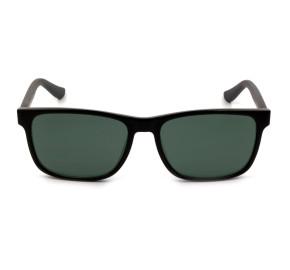 Tommy Hilfiger TH1418/S - Preto Brilho/Cinza VY0P9 56mm - Óculos de Sol