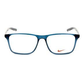 Nike 7125 Azul Translúcido 400 54mm - Óculos de Grau