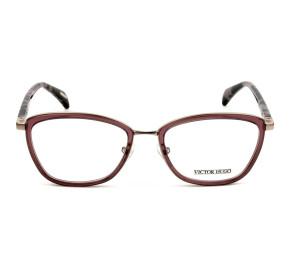 Victor Hugo VH1258 Rose/Mesclado C.0A40 53mm - Óculos de Grau