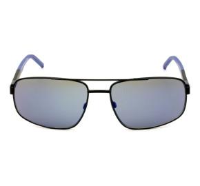 Tommy Hilfiger TH1651/S - Preto Fosco/Azul Espelhado 0032Y 61mm - Óculos de Sol
