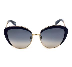 Victor Hugo SH1270 - Roxo/Azul Degradê C.09MW 58mm - Óculos de Sol