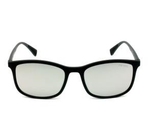 Prada Linea Rossa SPS01T Preto Fosco/Cinza Espelhado DG0-2B0 56mm - Óculos de Sol