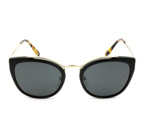 Prada SPR20U - Preto Brilho/G15 1AB-5S0 54mm - Óculos de Sol