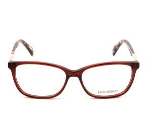 Victor Hugo VH1759 Vinho/Dourado C.06DC 53mm - Óculos de Grau