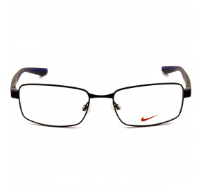 Nike 8175 - Preto Brilho/Verde 012 56mm - Óculos de Grau