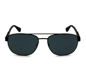 Tommy Hilfiger TH1544/S - Preto Fosco/Cinza 807IR 59mm - Óculos de Sol
