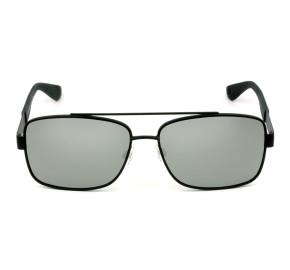 Tommy Hilfiger TH1521/S - Preto Fosco/Cinza Semi-Espelhado BSCT4 59mm - Óculos de Sol