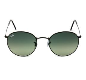 Ray Ban Round RB3447-NL - Preto/G15 002/71 53mm - Óculos de Sol