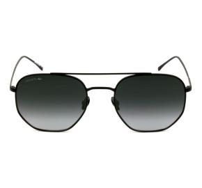 Lacoste L210S - Preto Fosco/Cinza Degradê 001 54mm - Óculos de Sol