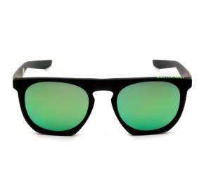 Nike Flatspot R EV1045 - Preto Fosco/Verde Espelhado 304 50mm - Óculos de Sol