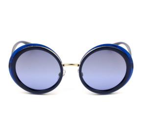 Dolce & Gabbana DG6127 - Azul/Dourado 3094/33 52mm - Óculos de Sol