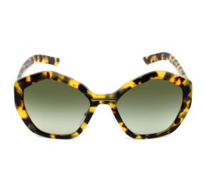 Prada SPR08X - Turtle/Verde Degradê 7S0-5O2 55mm - Óculos de Sol
