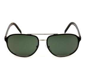Prada SPR53X - Preto Fosco/G15 Polarizado 524-736 60mm - Óculos de Sol