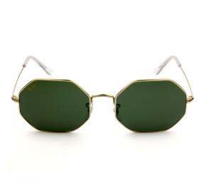 Ray Ban Octagonal RB1972 - Dourado/G15 9196/31 54mm - Óculos de Sol