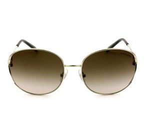 Tiffany & Co. TF3065 Dourado/Marrom Degradê 6021/3B 56mm - Óculos de Sol