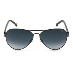 Lacoste L163S - Óculos de Sol Grafite/Cinza Degradê 035 Lentes 62MM