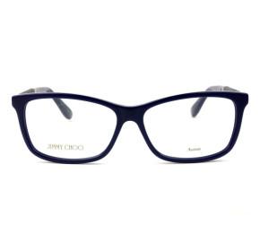 Jimmy Choo 167 Azul/Brilho KOD 54mm - Óculos de Grau