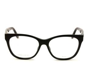 Jimmy Choo JC201 - Preto 807 53mm - Óculos de Grau