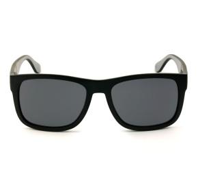 Tommy Hilfiger TH1556/S - Preto Fosco/Cinza 08AIR 52mm - Óculos de Sol
