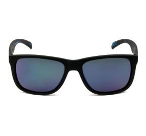 HB Ozzie 90140 - Preto Fosco/Azul Semi Espelhado 866 56mm - Óculos de Sol