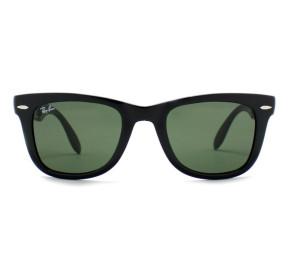 Ray Ban Folding Wayfarer RB4105 - Preto/G15 601S 54mm - Óculos de Sol