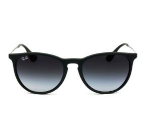 Ray Ban Erika RB4171L - Preto/Cinza Degradê 622/8G 54mm - Óculos de Sol