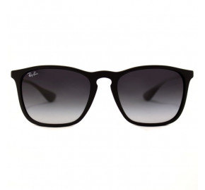 Ray Ban Chris RB4187 - Preto/Cinza Degradê 622/8G 54mm - Óculos de Sol