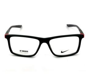 Nike 7084UF  Preto Fosco/Rosa 004 54mm - Óculos de Grau
