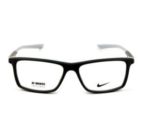 Nike 7084UF - Cinza/Branco 030 54mm - Óculos de Grau