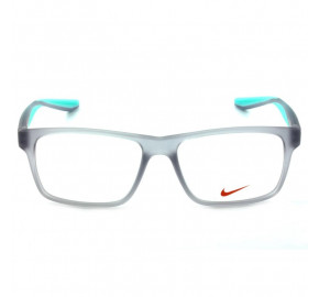 Nike 7101 - Cinza/Azul Turquesa 050 53mm - Óculos de Grau