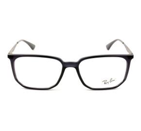 Ray Ban RB7175L Preto Brilho/Grafite 5983 55mm - Óculos de Grau