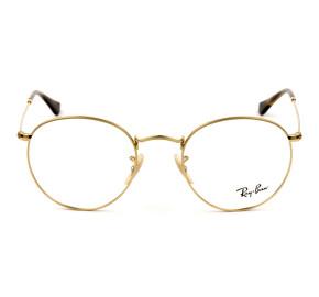 Ray Ban RB3447V - Dourado 2500 50mm - Óculos de Grau
