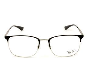 Ray Ban RB6421 Preto Fosco/Prata 2997 54mm - Óculos de Grau
