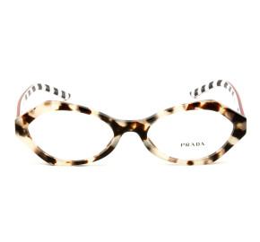 Prada VPR12X Mesclado/Listras UAO-1O1 53mm - Óculos de Grau