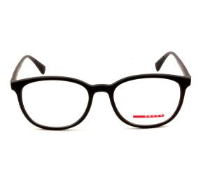 Prada Linea Rossa VPS07L Preto Fosco DG0-1O1 55mm - Óculos de Grau