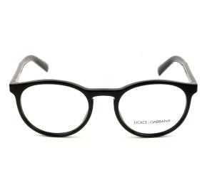 Dolce & Gabbana DG3309 - Preto Brilho 501 54mm - Óculos de Grau