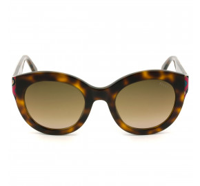 Emilio Pucci EP 98 - Turtle/Marrom Degradê 52F 51mm - Óculos de Sol