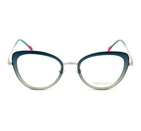 Emilio Pucci EP 5114 - Verde/Prata 089 52mm - Óculos de Grau