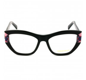 Emilio Pucci EP 5066 - Preto Brilho 001 53mm - Óculos de Grau