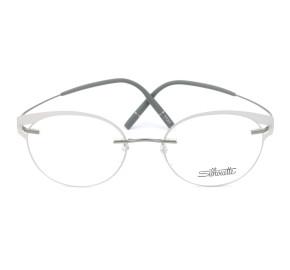 Silhouette 5518 FV - Cinza/Grafite 7110 50mm - Óculos de Grau